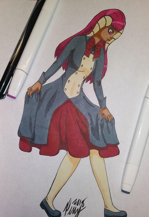 Lolita Dress Beauty - Peny Hanson