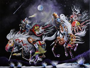 Moon Dancers - Lance Smith Art