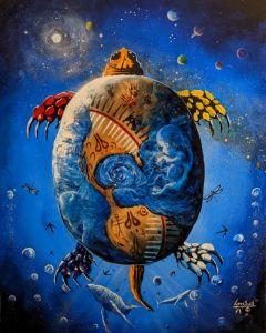 Turtle Island - Lance Smith Art