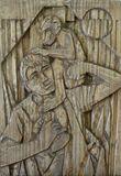 Original wood carving