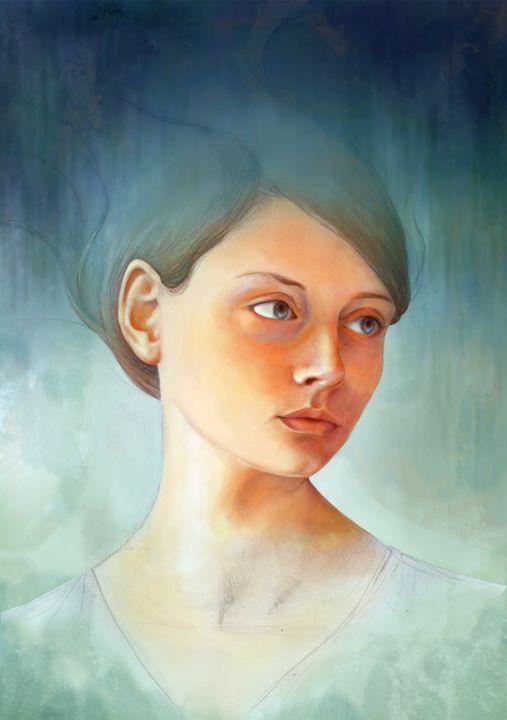 Wash Away - Art by Miralina Stewart