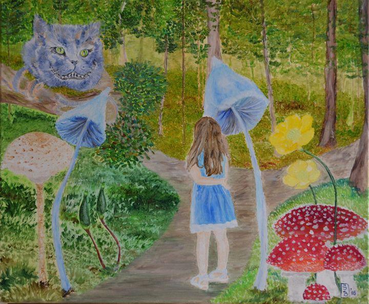 Alice in Wonderland - Simona Bidileci