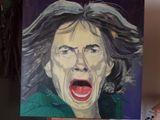 Portrait of Mick Jagger