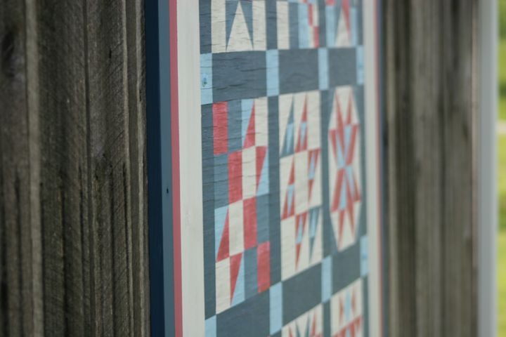 smoky Mountian barn quilt - Wilted Birch Photography Company