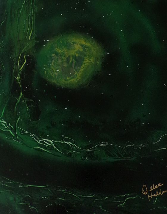 Galactic Green - Creative  DP Artworks