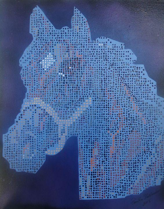 Spotzie The Horse - Creative  DP Artworks
