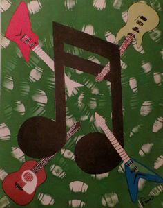 Green Splash Guitars - Creative  DP Artworks