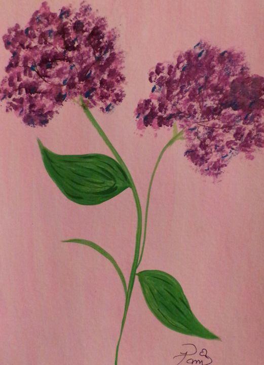 purple passion flowers - Creative  DP Artworks