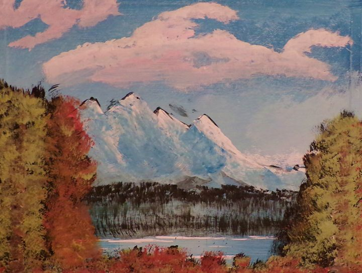 Mountain Bliss - Creative  DP Artworks