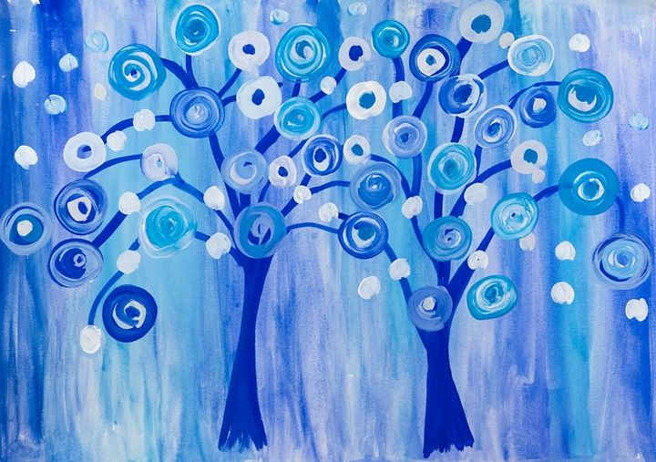 Fairy trees - Lucy's Gallery