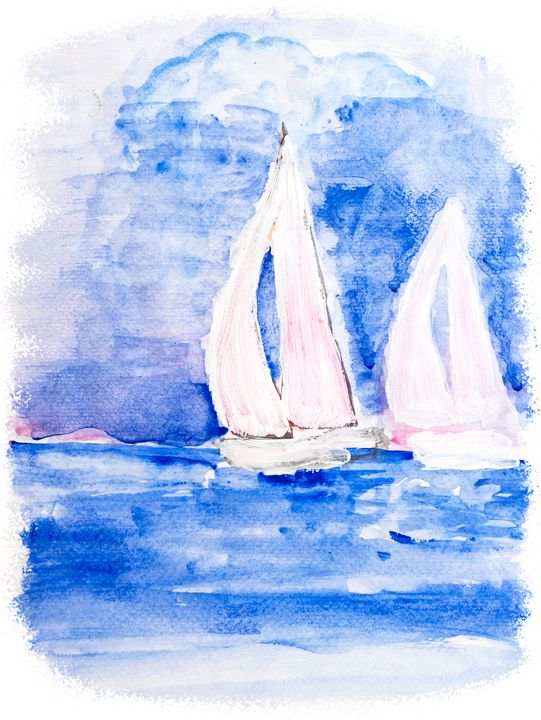 sailing boats - Lucy's Gallery