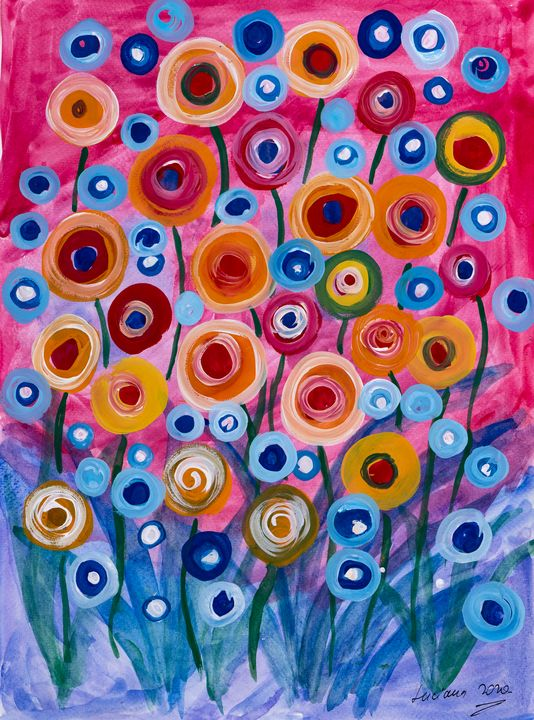 summer flowers - Lucy's Gallery