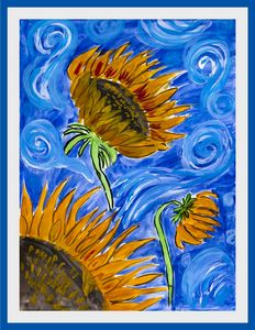 sunflowers - Lucy's Gallery