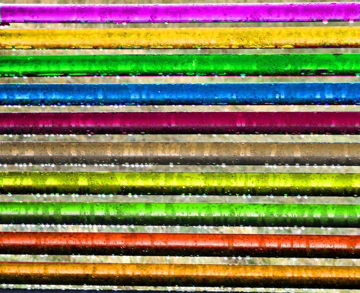 Rainbow Bench - Steph and Mark