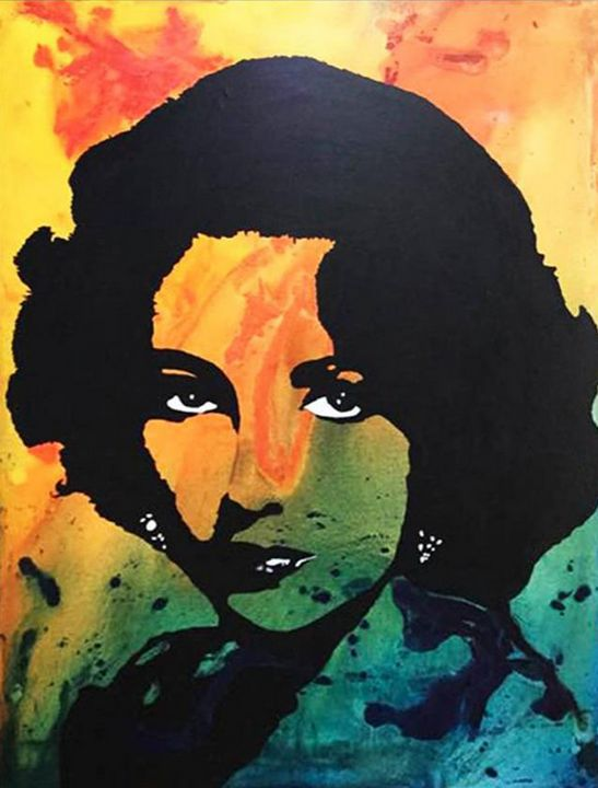 Elizabeth Taylor  «Sun» - Kathleen Artist PRO