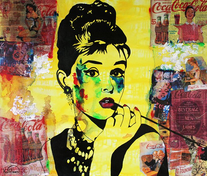 AUDREY HEPBURN « Coca-Cola » - Kathleen Artist PRO