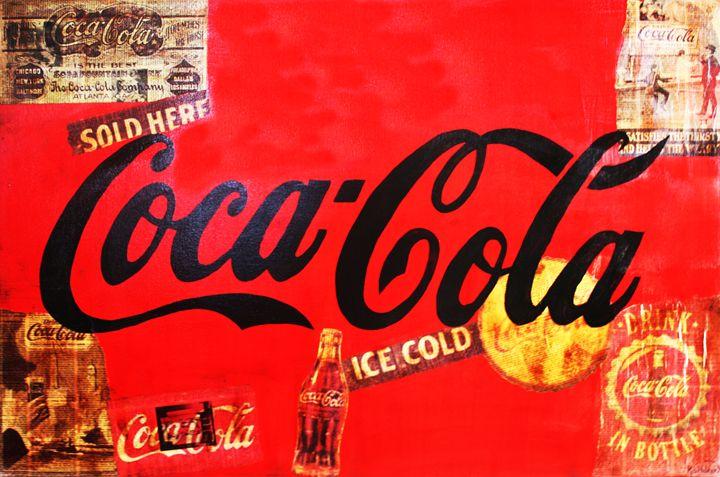 COCA-COLA « Ice Cold » - Kathleen Artist PRO