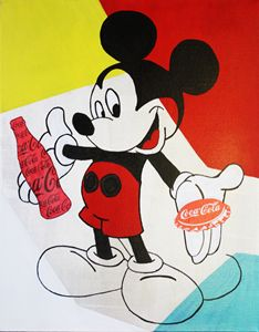 MICKEY MOUSE « Coca-Cola »