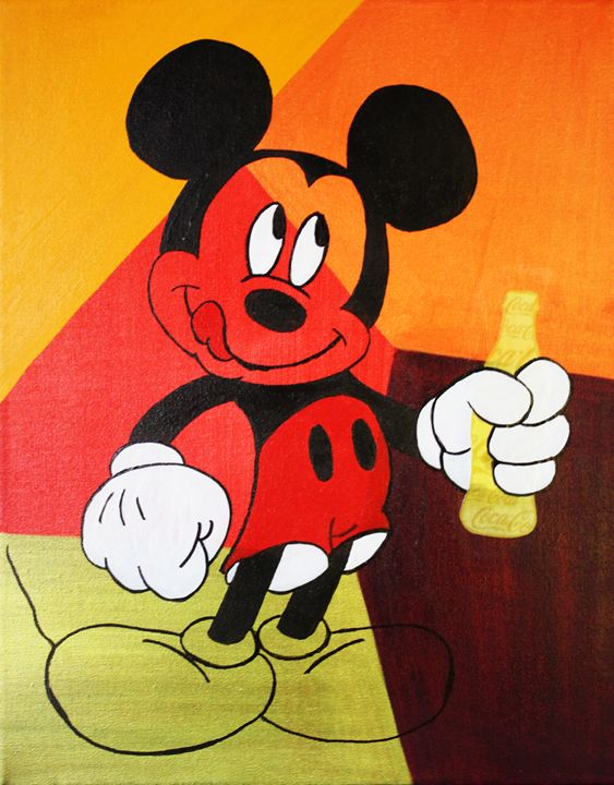 Mickey Mouse « Coca-Cola Drink » - Kathleen Artist PRO