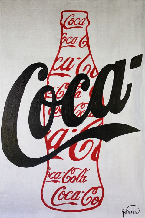 COCA COLA « Coke Bottle Red » - Kathleen Artist PRO