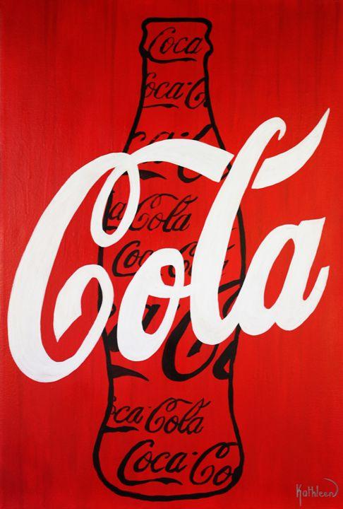 COCA-COLA « Coke Bottle Black » - Kathleen Artist PRO