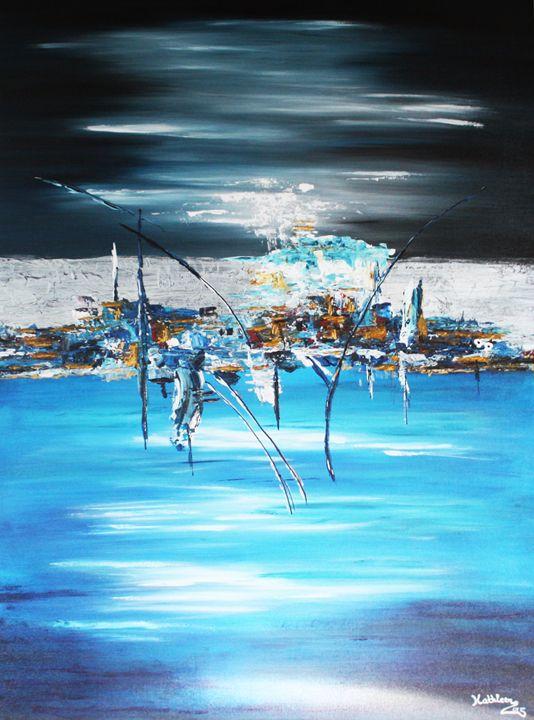 HORIZON BLUE CITY - Kathleen Artist PRO