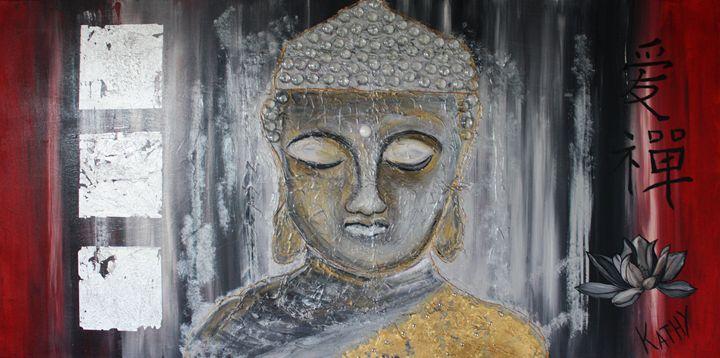 BUDDHA « Zen Attitude » - Kathleen Artist PRO
