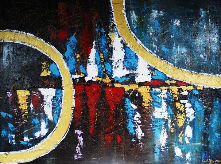 HORIZON GOLD CIRCLES - Kathleen Artist PRO