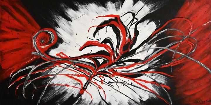 MODERN RED FLOWER - Kathleen Artist PRO