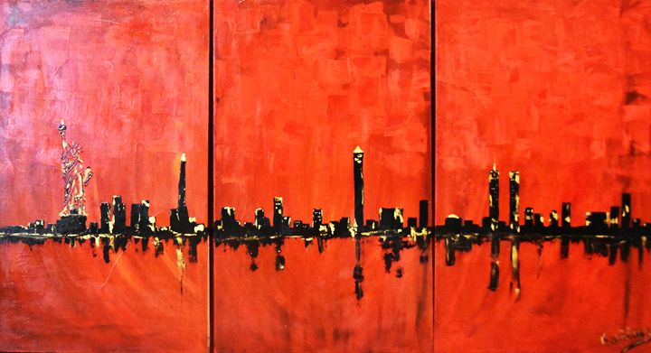 New-York City Horizon - Kathleen Artist PRO
