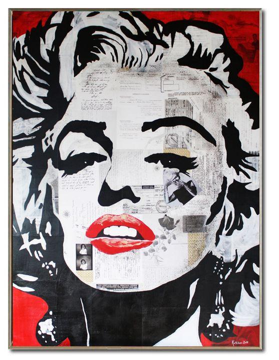 MARILYN MONROE « Fascination » - Kathleen Artist PRO