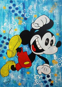Mickey Mouse Happy Day - Kathleen Artist PRO