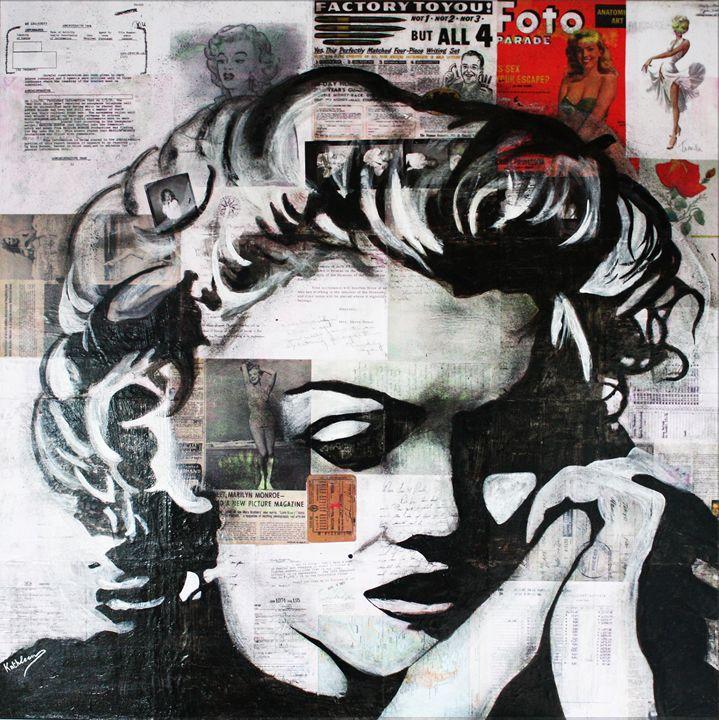 MARILYN MONROE « Memory » - Kathleen Artist PRO