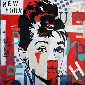 Audrey Hepburn NYC - Kathleen Artist PRO