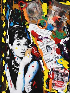 AUDREY HEPBURN «Modern Apple Iphone»