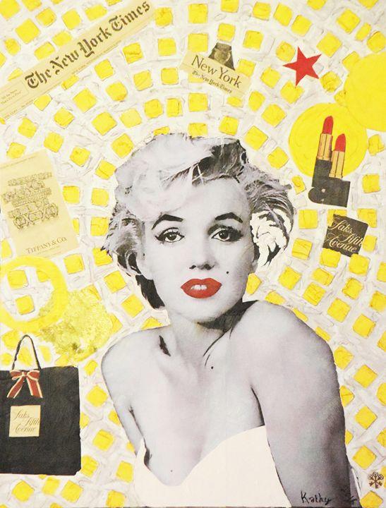 MARILYN MONROE « New-York City » - Kathleen Artist PRO