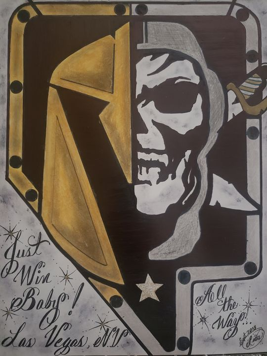 Las Vegas knights/Raiders - Art Magic