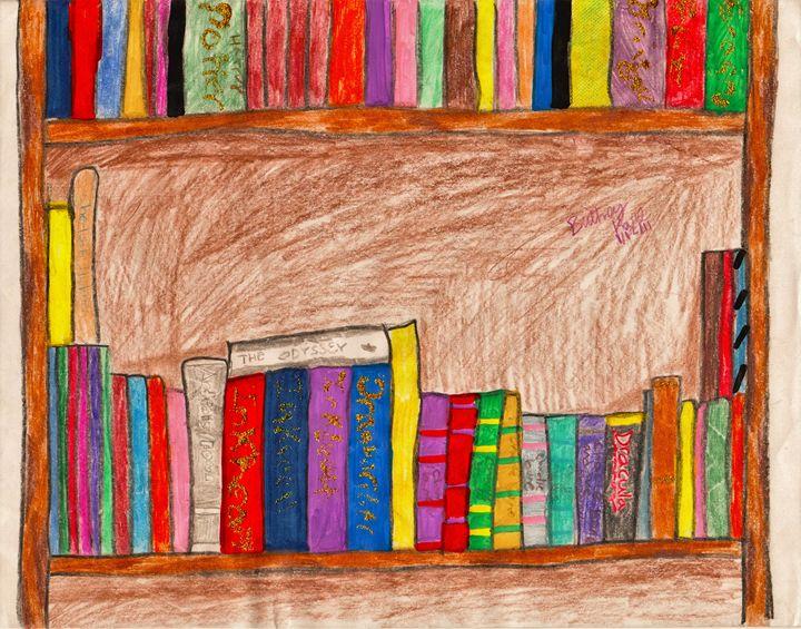 adventures on a shelf - Karl art