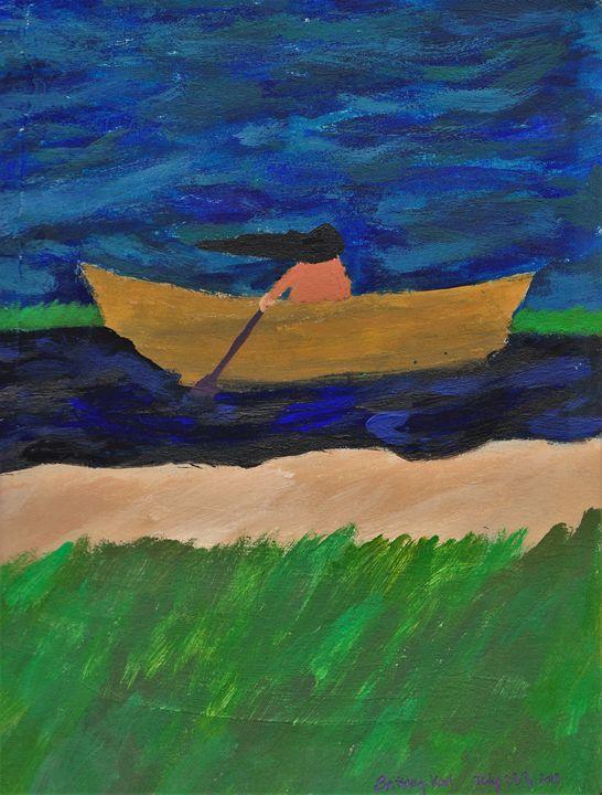 Canoe trip - Karl art