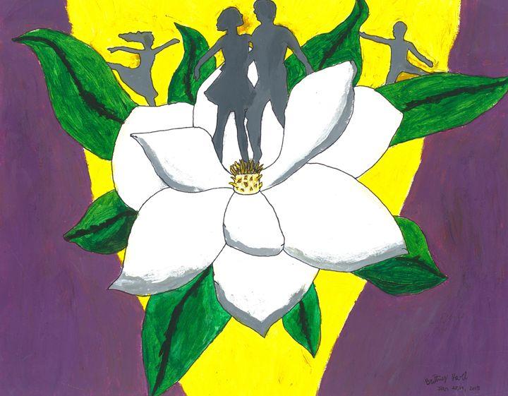flower dancers - Karl art