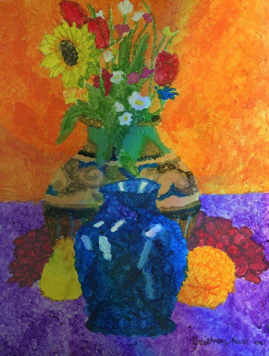 Flowers and fruit - Karl art