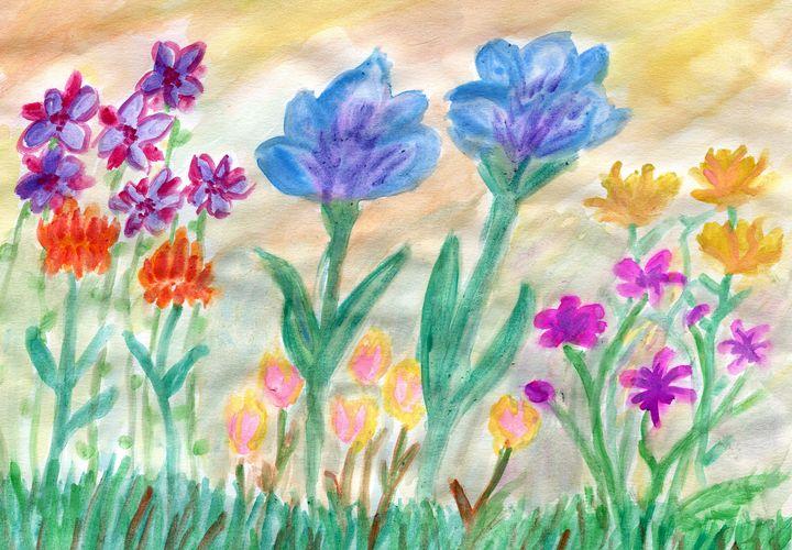 Flower Garden - Karl art