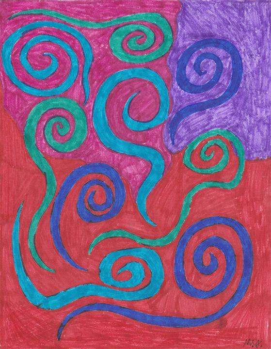 Abstract Piece 4 - Meghan Yardas