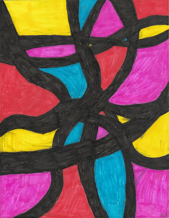 Abstract Piece 6 - Meghan Yardas