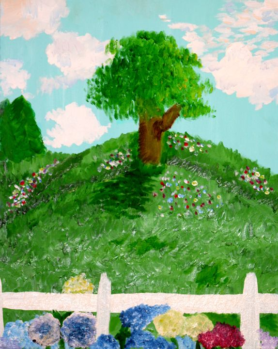Fields of sunshine and color - Paintings by Liz