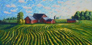 Indiana farm land