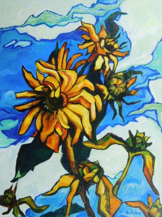 sunflowers - Butedma's ArtWork