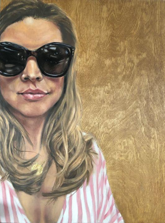 Ally - Simone Scholes Art