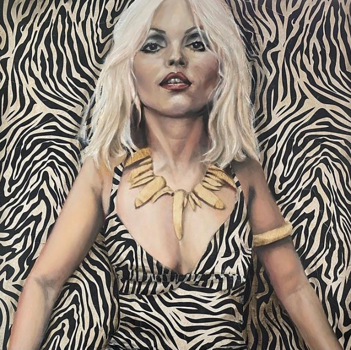 Untamed Blonde - Simone Scholes Art