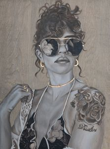 She's in fashion - Simone Scholes Art